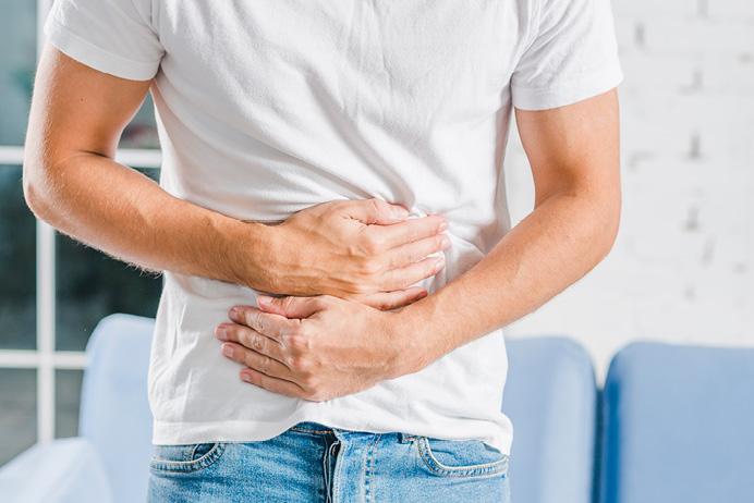 miért fáj a gyomor merevedéssel