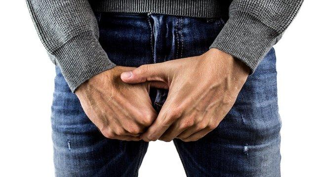 erekció jelenik meg és gyengül)