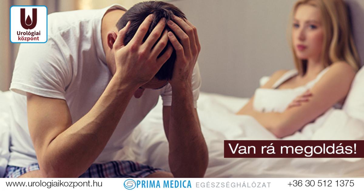 diagnózis gyenge erekció)