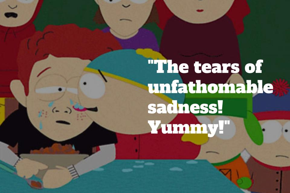 Chubby Day South Park mi válhat gyenge erekcióvá