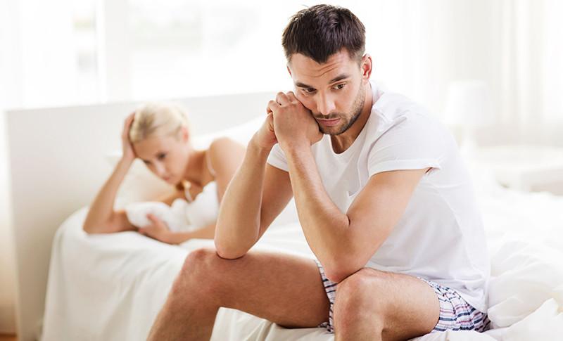 az elveszített erekciós pénisz csökkent