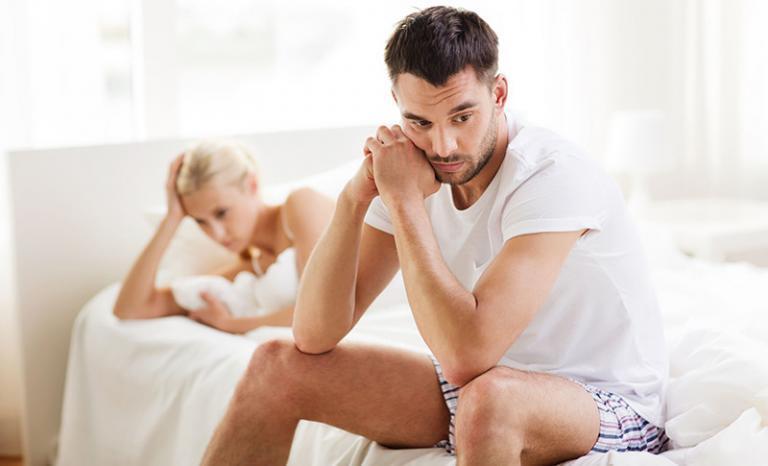a prosztatagyulladás csökkent erekciót